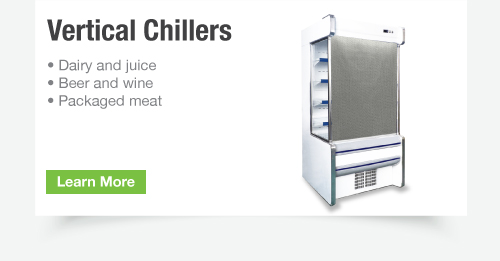Vertical Chiller Night Cover
