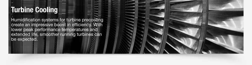 Turbine Cooling | Humidity Precooling